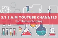 STEAM / STEM YouTube Channels for Homeschooling