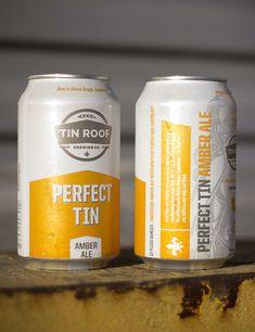 Perfect Tin Amber Ale. Baton Rouge, LA