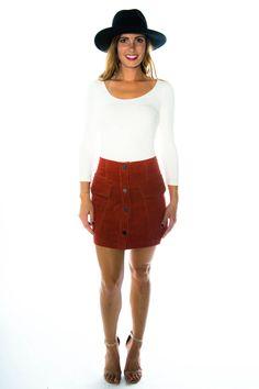 Lisette A Line Mini Skirt