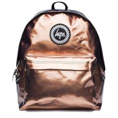 36630d97db Tri Copper Backpack by Hype ( 32) ❤ liked on Polyvore featuring bags