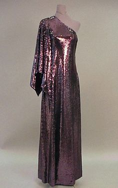 Couture and Textiles - Halston 1970's - Doyle New York