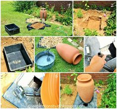 Water feature on pinterest water features garden for Do it yourself water features