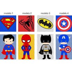 Adesivo Decorativo Super Herois Infantil - R$ 98,00 Baby Heroes, Spiderman, Baby Superhero, Craft Show Ideas, Felt Dolls, Baby Party, Kids And Parenting, Party Themes, Avengers