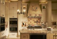 This traditional #kitchen features custom cabinetry from Dallas, TX-based The Kitchen Source.   See MORE: http://luxesource.com/resources/the-kitchen-source?utm_source=pinterest.   #luxeDallas #luxemag #interiordesign #interiors #design #architecture #homedecor