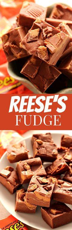 Reese's Peanut Butter Cups Fudge Recipe