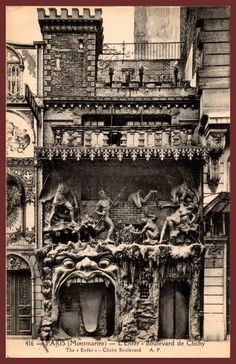 Paris, Cabaret du Ciel et de l'enfer (Heaven and Hell)