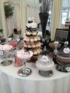 Fun Chic & Modern Wedding Candy Bar or Buffet Sign or Poster DIY Print Ready via Etsy