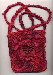 Free-Form Red Purse by Gwen Blakley Kinsler