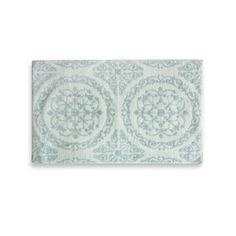 Jessica Simpson 21-Inch x 34-Inch Ornamental Bath Rug