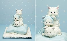 kitten cake by Debbie Brown from Baby Cakes. I Love Debbie Brown Cakes!