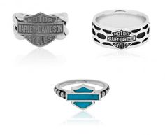 Harley-Davidson Rings by MOD Jewelry Harley-Davidson Rings by MOD Jewelry Harley Davidson Rings, Harley Davidson Pictures, Harley Davidson Motor, Classic Harley Davidson, Photo Jewelry, Fashion Jewelry, Women Jewelry, Diy Jewelry, Jostens Class Rings
