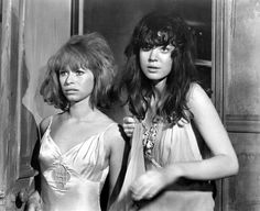 ''Spider Baby'' Beverly Washburn and Jill Banner, 1967. not via anything