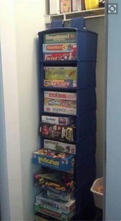 Gameboard closet