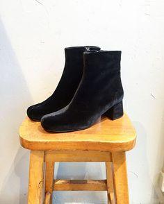 """GANNI Postmodern på Instagram: """"Velvet boots - perfect for the weekend  #ganni #lucyvelvet #gannipostmodern"""""""