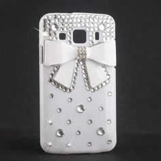 White Bow Bowknot Bling Diamond Hard Back Case Cover For Samsung S5690 Galaxy Xcover Phone Hongyada http://www.amazon.com/dp/B00D57K5MI/ref=cm_sw_r_pi_dp_RK6oub0S5HEK9