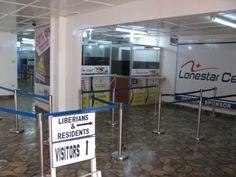 Arrival at Airport Monrovia, Liberia