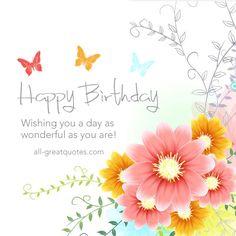 Have A Great Birthday Birthday Wish Card Happy Birthday Pinte