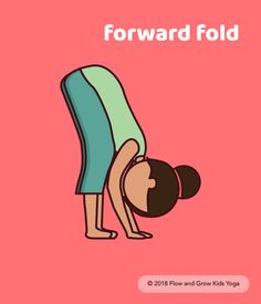 Yoga Poses for Kids: Forward Fold Kids Yoga Poses, Yoga For Kids, Exercise For Kids, Yoga Forward Fold, Yoga Certification, Welcome To School, Pediatric Physical Therapy, Yoga Lessons, Baby Yoga