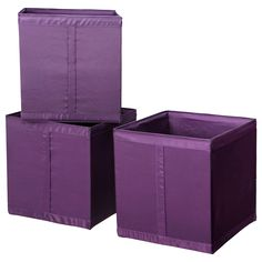 IKEA SKUBB Box - lilac - (already have 3, need 3-4 more in either pink or beige floral)
