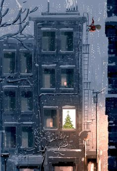 Happening soon… illustrazioni Pascal Campion Art And Illustration, Christmas Illustration, Christmas Art, Winter Christmas, Xmas, Flowers Wallpaper, Poster Photo, Pascal Campion, Art Watercolor