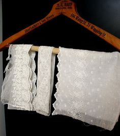 Antique Lace Edwardian Victorian  Pieces from Late by VintageBroad, $16.00