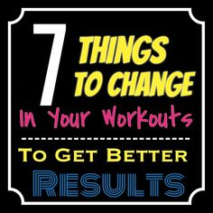 7 Ways To Change Your Workout For Greater Fat Loss.  This can make such a huge difference in your body.  Crazy!  http://michellemariefit.publishpath.com/7-ways-to-change-your-workout-for-greater-fat-loss