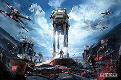 Star Wars Battlefront War Zone Maxi Poster, multicolour