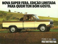 1981 Ford F-100 Super Série Alcool - Brasil