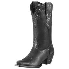 Saw these at Boot Barn. Love and want them!!!   Cowboy Boots Rhinestone Cowgirl - Ariat