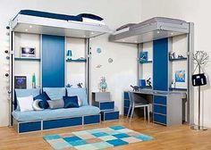 Falta espaço no quarto? Veja o que designers italianos inventaram