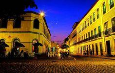 Sâo Luís, Maranhão, Brasil. Centro Histórico. Casario abriga bares, lojas e espaços culturais Foto: Secretaria de Turismo do Maranhão.