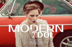 """Piotr Serafin: """"Modern Idol"""" http://www.confashionmag.pl/webitorial/modern-idol.html"""