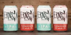 Fernson Brewing Co. via The Dieline http://ift.tt/1XpJllb