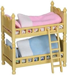Calico Critters Triple Baby Bunk Beds I have a feeling my lps