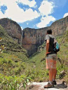 A explêndida Cachoeira do Tabuleiro, em Minas Gerais