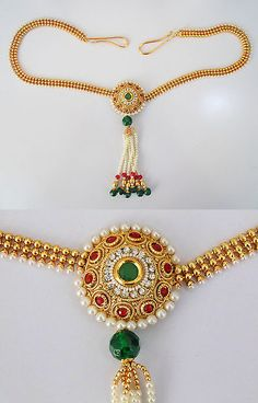 Other Asian E Indian Jewelry 11313: Indian Jewelry Kamarband Kandora Belly Dance Belt Hip Chain Ethnic -> BUY IT NOW ONLY: $42.5 on eBay!