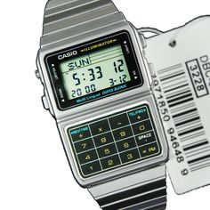 Sports Watch Store - Casio Data Bank Calculator Watch DBC-611-1D DBC-611-1, $33.00 (http://www.sports-watch-store.com/casio-data-bank-dbc-611-1d)