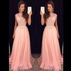 Tienda Online Envío rápido Elegante Mujer Top de Encaje Vestido de Fiesta de Noche Largo Elegante Vestido De Festa Longo Vestidos de Fiesta Baratos 2015 Nuevo | Aliexpress móvil