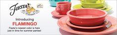 Fiestaware: Fiesta Dishes, Flatware, Cutlery & Drinkware | Kohl's