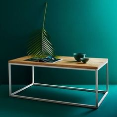 mesa hierro y madera opciones Home Board, Coffe Table, My Furniture, Box Frames, Small Living, Sweet Home, Living Room, Interior Design, Wood