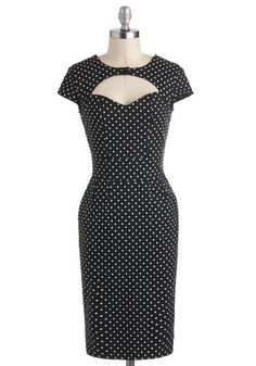 not a wedding dress..but it would look hott on her! Big Band Singer Dress, #ModCloth