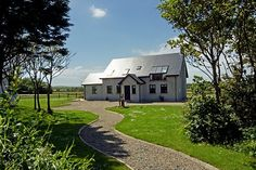 County Wexford Cottage Rental: Baginbun H'd, Fethard-on-sea, Co. Irish Beach, Beach Cottages, Ideal Home, Condo, Vacation, Mansions, House Styles, Sea, Ideal House