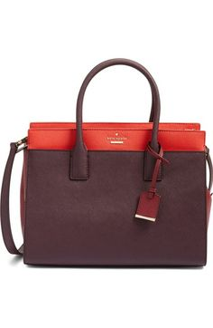 kate spade new york 'cameron street - candace' leather satchel available at #Nordstrom