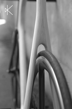 Vélo ARVAK // Wood Bicycle Details // Handmade in France