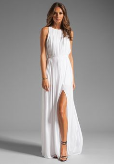 Rehersal dress -SEN Flaviana Dress in White at Revolve Clothing - Free Shipping!