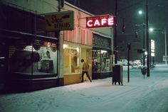 Greg Girard - Vancouver 1972 1982 Another Canadian photographer whose work I fell in love with at an exhibit at the Vancouver Art Gallery. His old photos of Vancouver are amazing.