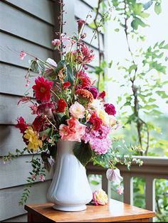 Create your own timeless, beautiful bouquet of flowers using our tips and tricks. Start with a cohesive color shade like pink, use a shallow bowl or a centerpiece that is easy to talk over, use contrasting shades of blooms, sneak in some veggies like flowering cabbage or kale, or try one of our other awesome ideas for creating an amazing flower arrangement. You'll love the gorgeous results!
