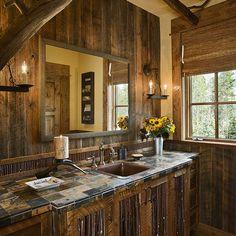 Master bathroom ideas on pinterest country style bathrooms western