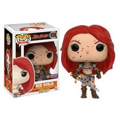 (affiliate link) Red Sonja Bloody Pop! Vinyl Figure