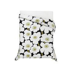 Beddingstyle: Marimekko Unikko Black #bedding